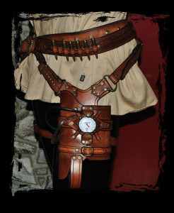 leather_steampunk_holster_for_maverick_nerf_gun_by_lagueuse-d5jy48s